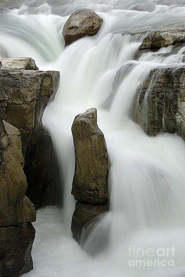 Sunwapta Falls Photograph - Sunwapta Falls 2 by Bob Christopher