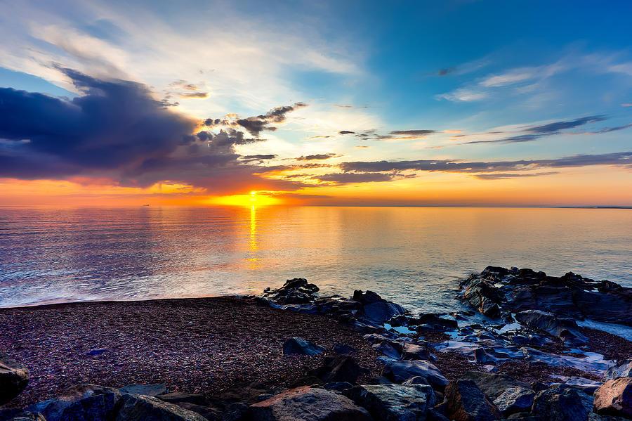 Duluth Photograph - Superior Dawn by David Wynia