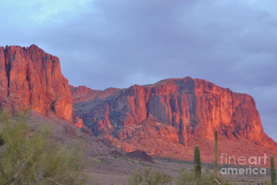 Lost Photograph - Superstitions After The Rain by Patty Descalzi