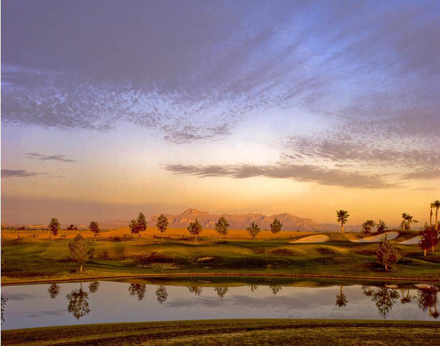 Landscape Photograph - Superstitions by Jim Painter