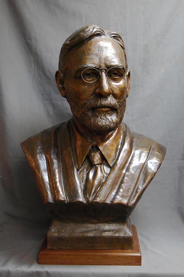 Bronze Sculpture - Supreme Court Justice George Sutherland Custom Bronze Sculpture by Stan Watts