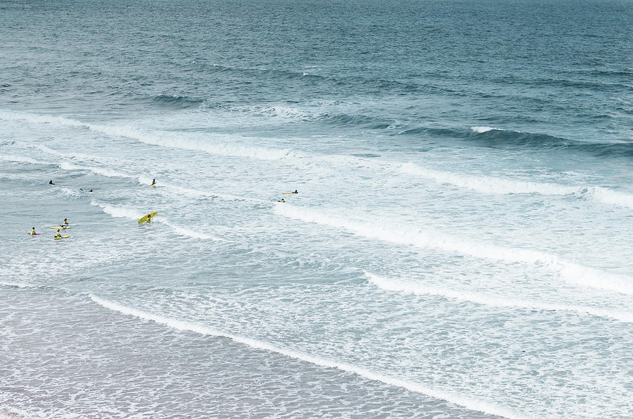 Horizontal Photograph - Surf Lesson by Thenakedsnail