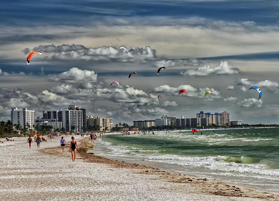 Beach Photograph - Surfs Up by Boyd Alexander