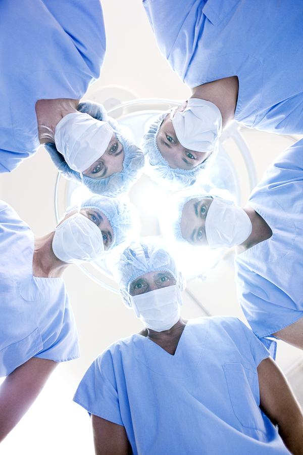 20s Photograph - Surgical Team by