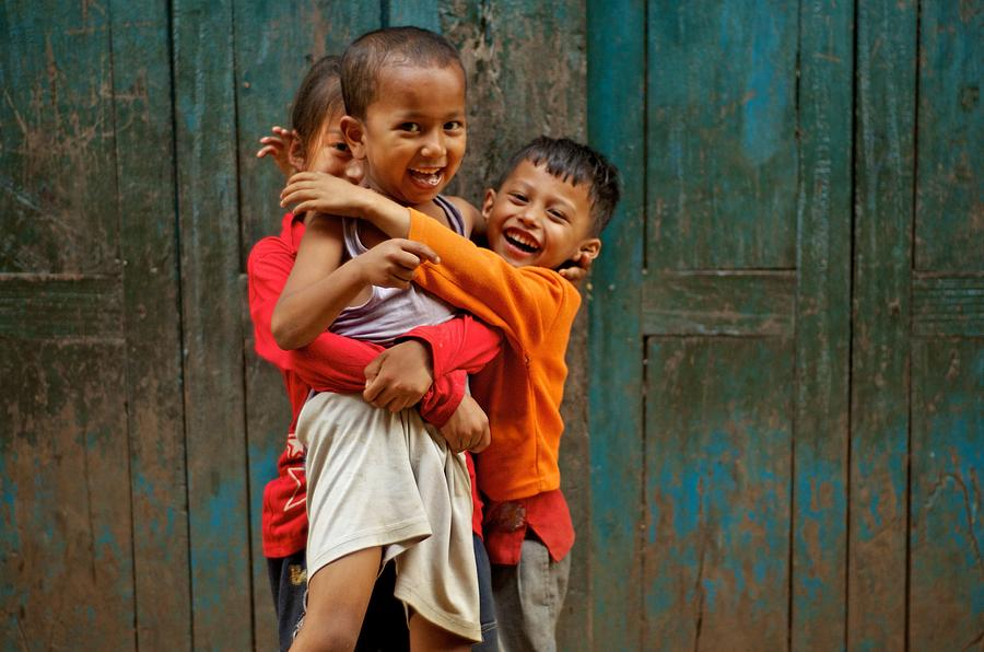 Children Photograph - Survival Of The Fittest by Valerie Rosen