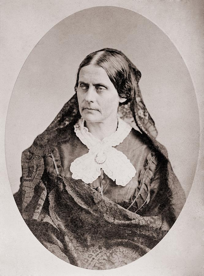 History Photograph - Susan B. Anthony 1820 �1906, American by Everett
