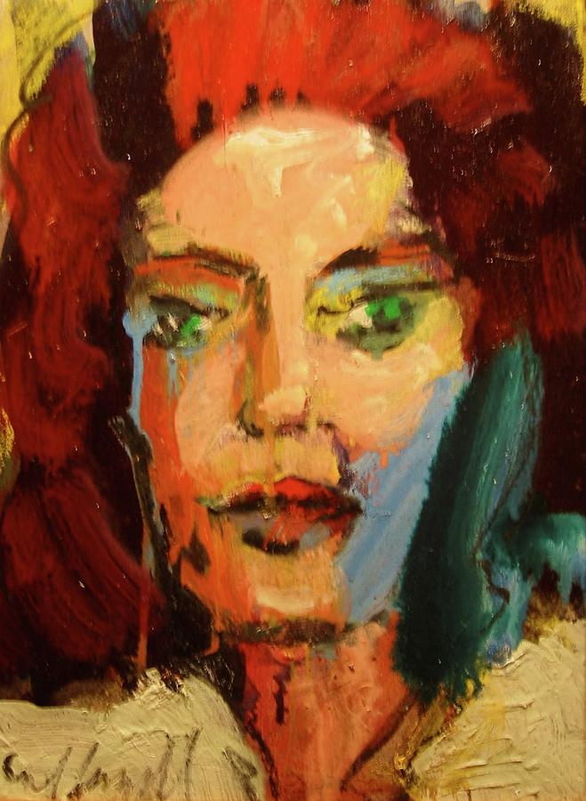 Portraits Painting - Susan by Les Leffingwell