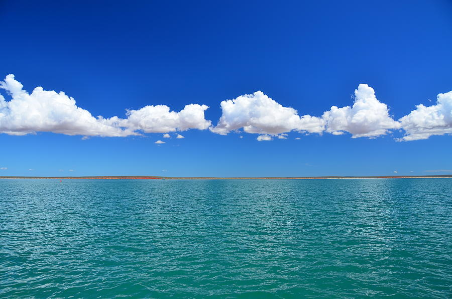 Clouds Photograph - Suspended by Angela White