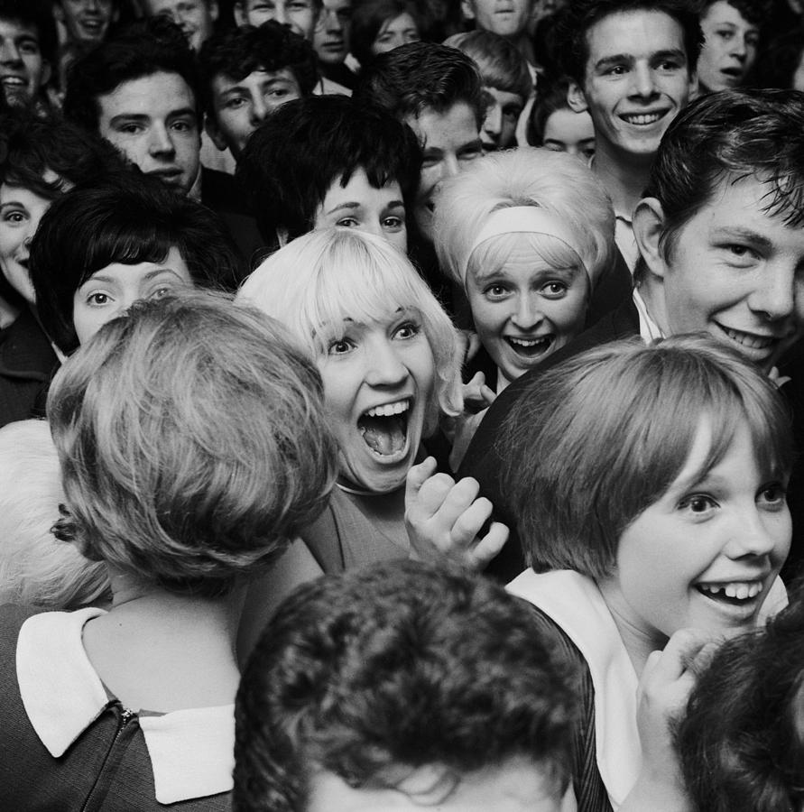 Teenager Photograph - Sutch Savage Fans by John Drysdale
