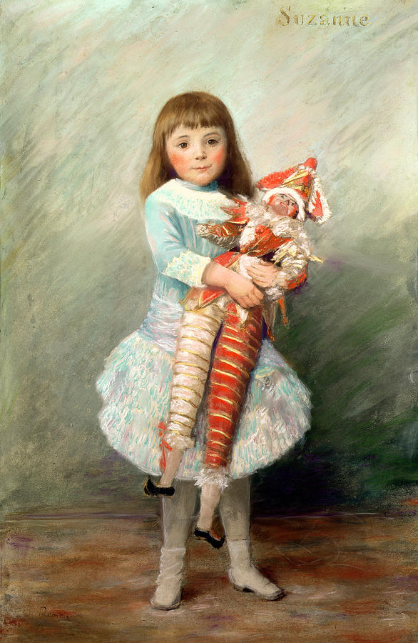Suzanne Painting - Suzanne by Pierre Auguste Renoir