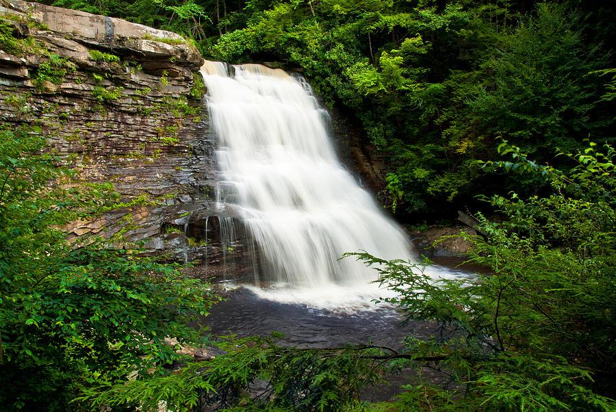 Deep Creek Photograph - Swallow Falls Park by Mark Dottle