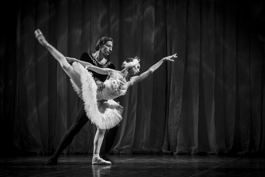 Hermitage Photograph - Swan Lake  White Adagio  Russia 3 by Clare Bambers