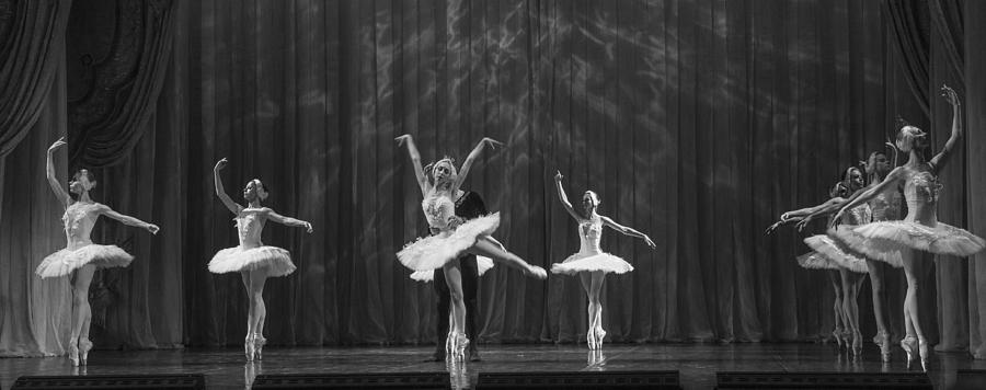 Hermitage Photograph - Swan Lake  White Adagio  Russia 4 by Clare Bambers