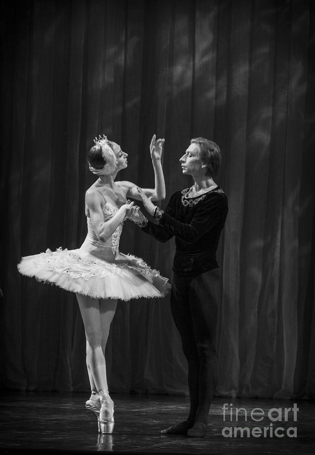 Hermitage Photograph - Swan Lake  White Adagio  Russia by Clare Bambers