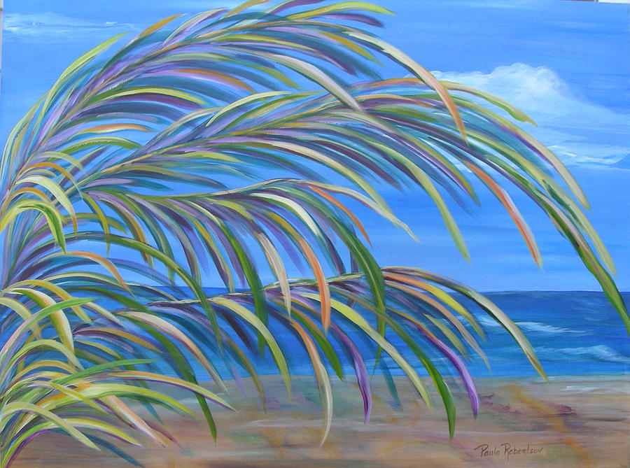 Swaying in the Breeze by Paula Robertson