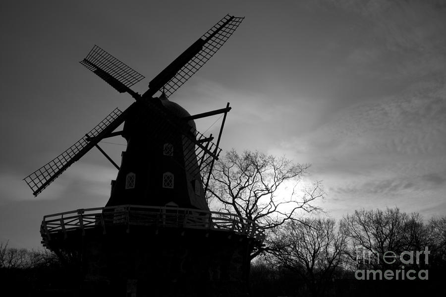 Windmill Photograph - Swedish Windmill by Mike  Connolly