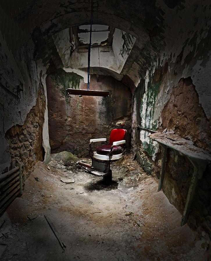 Chair Photograph - Sweeney Tod by Dmitriy Mirochnik