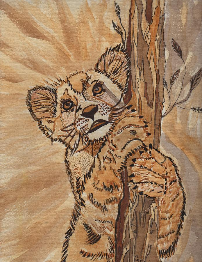 Animals Painting - Sweet Baby by Connie Valasco