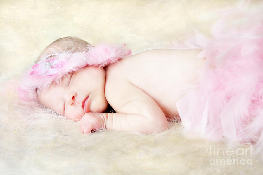 Adorable Photograph - Sweet Baby Girl by Darren Fisher