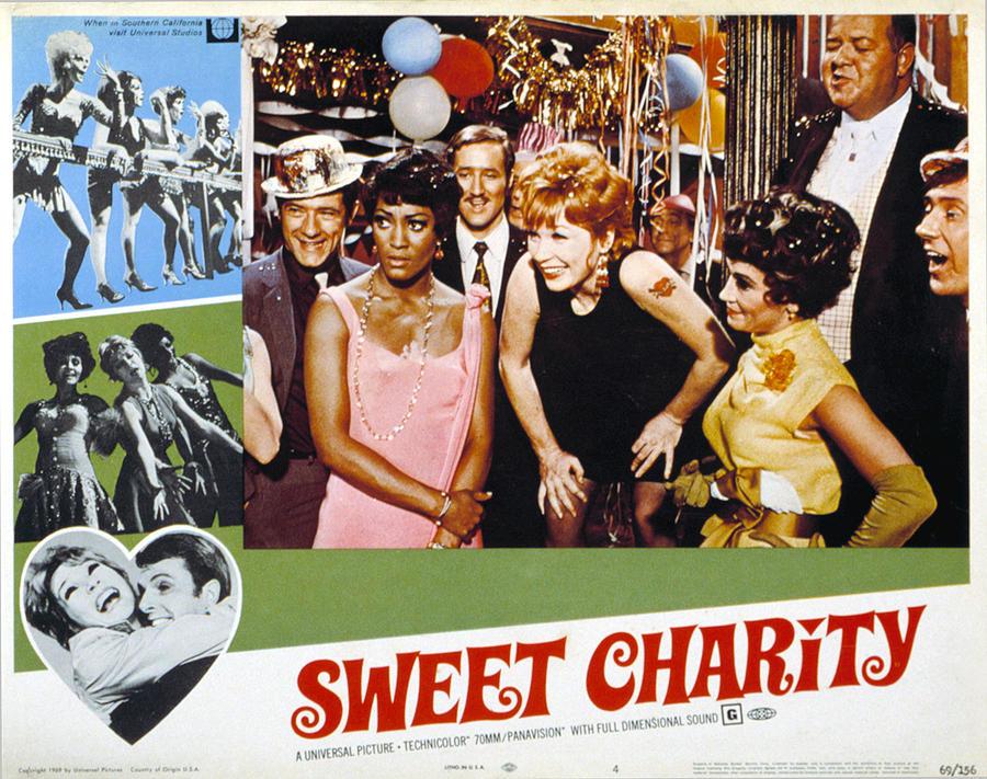 1960s Movies Photograph - Sweet Charity, Paula Kelly, Shirley by Everett