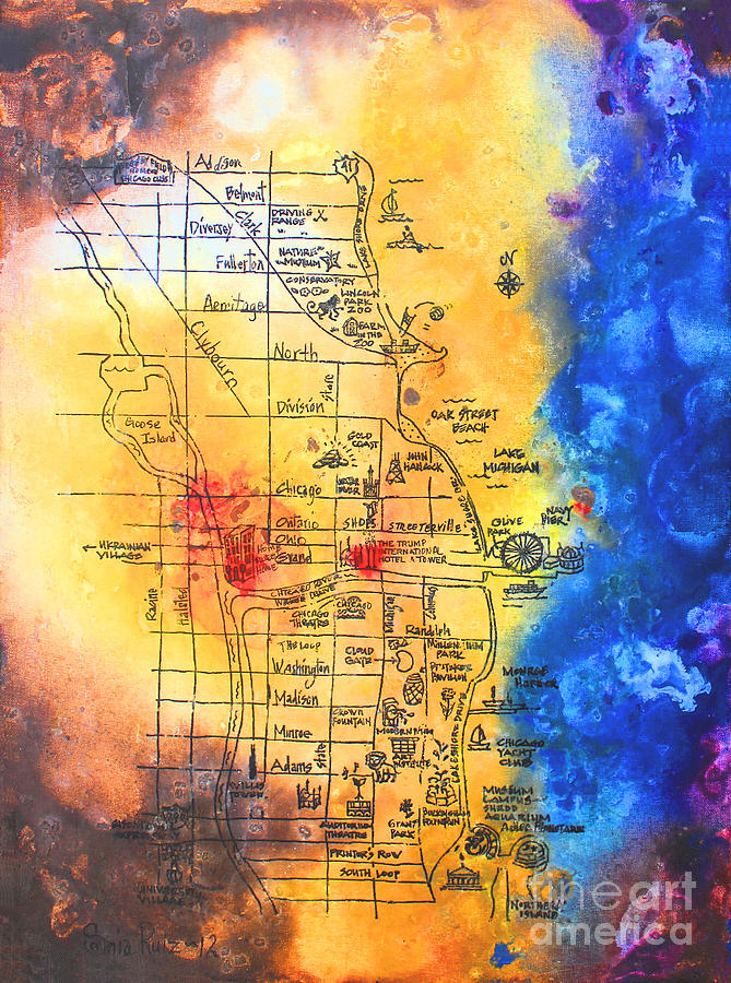 Sweet Home Chicago by Sonia Flores Ruiz