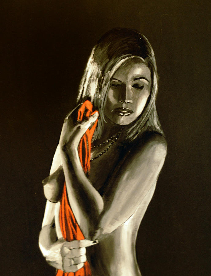 Nude Painting - Sweet Memories by Rob Heath