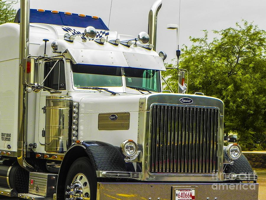 Trucks Photograph - Sweet Pete by Chuck Re