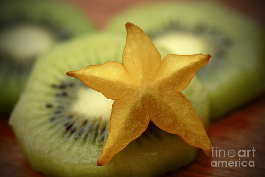 Star Fruit Photograph - Sweet Pleasures by Inspired Nature Photography Fine Art Photography