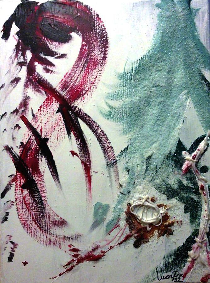 Sweet Painting - Sweet Pregnancy by Montserrat Lopez Ortiz