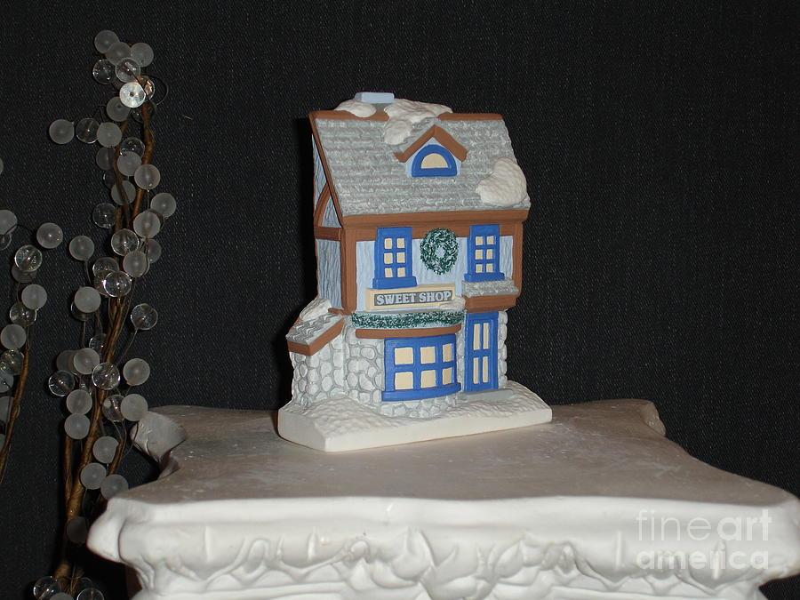 Decor Ceramic Art - Sweet Shop Facade by Mademoiselle Francais