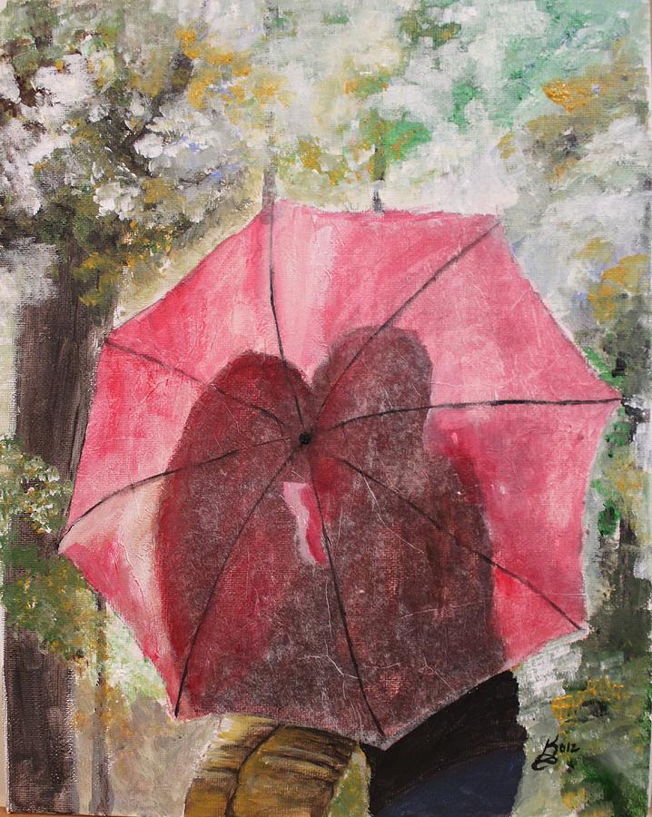 Acrylic Painting - Sweet Valentine by Kim Selig