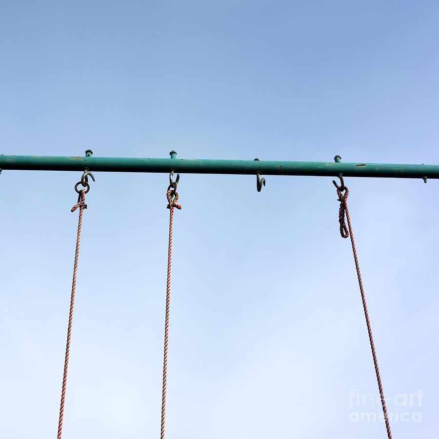 Abandoned Photograph - Swing by Bernard Jaubert