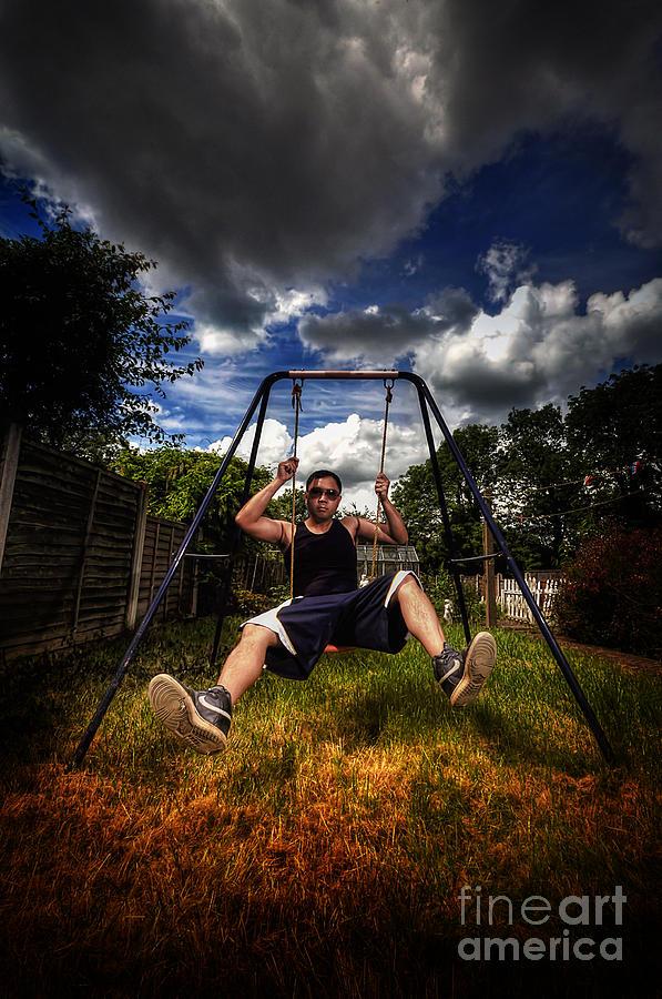 Yhun Suarez Photograph - Swinger by Yhun Suarez