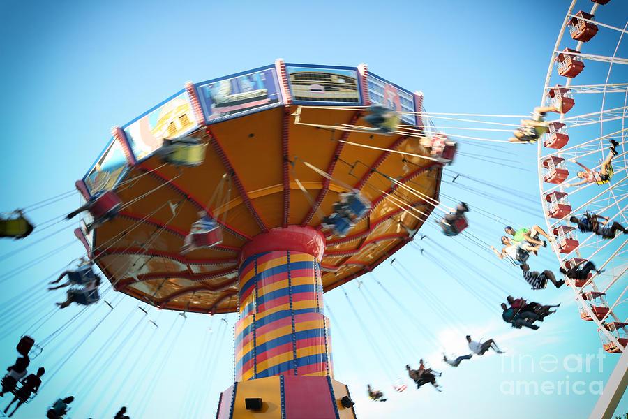 Swings Photograph - Swings by Leslie Leda