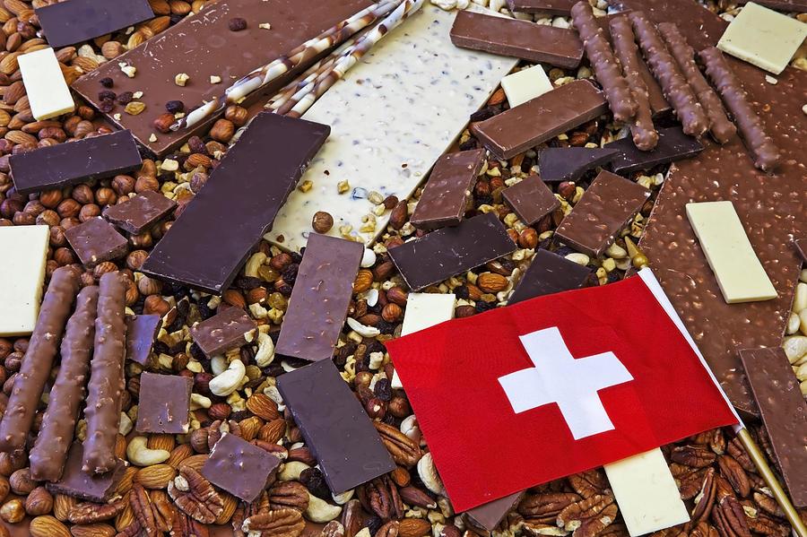 Chocolate Photograph - Swiss Chocolate by Joana Kruse