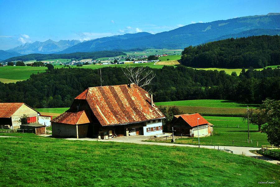 Photograph - Swiss Countryside by Vinod Nair