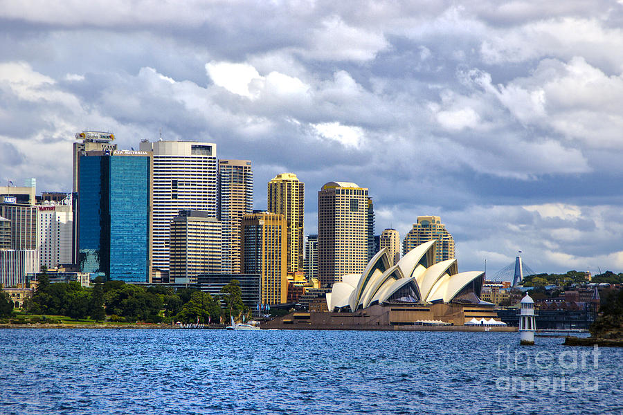 Austrailia Photograph - Sydney Harbour One by Rick Bragan
