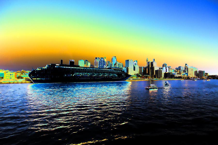 Sydney Photograph - Sydney In Color by Douglas Barnard