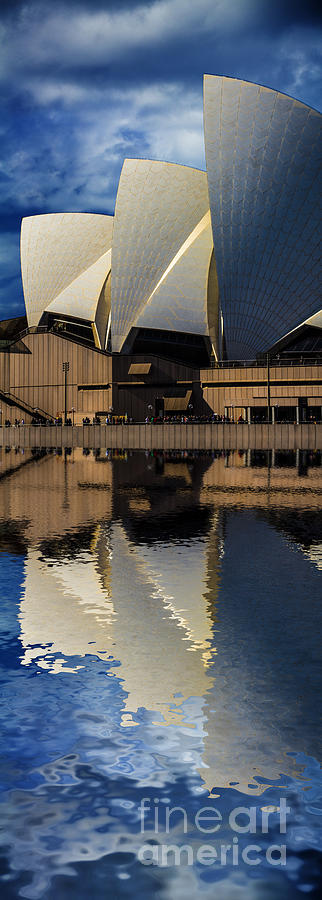 Sydney Opera House Photograph - Sydney Opera House Abstract by Avalon Fine Art Photography