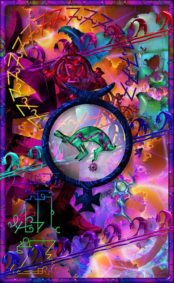 Symbols Digital Art - Symagery 23 by Kenneth Armand Johnson