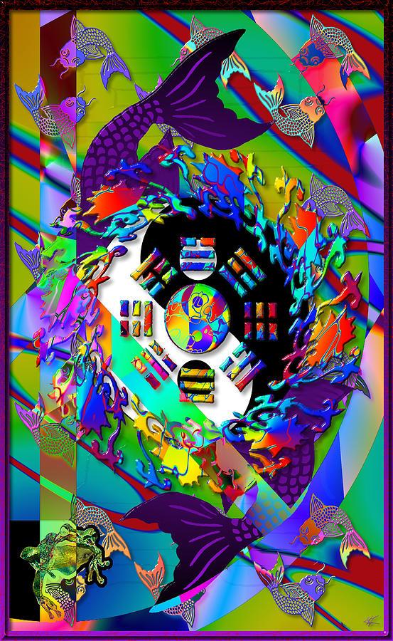 Symbols Digital Art - Symagery 3 by Kenneth Armand Johnson