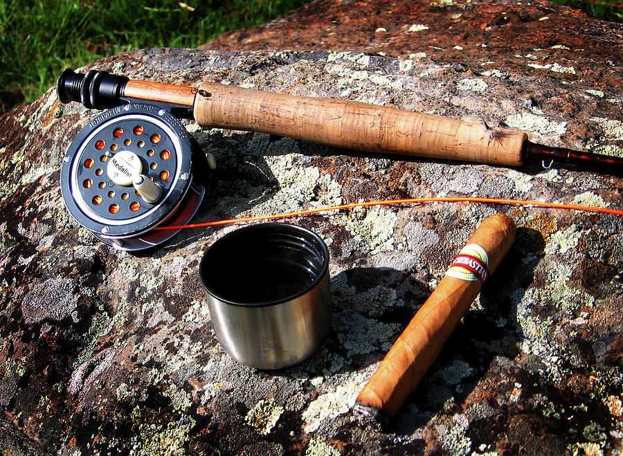 Fly Fishing Photograph - Symbols Of Paradise by Ed Golden