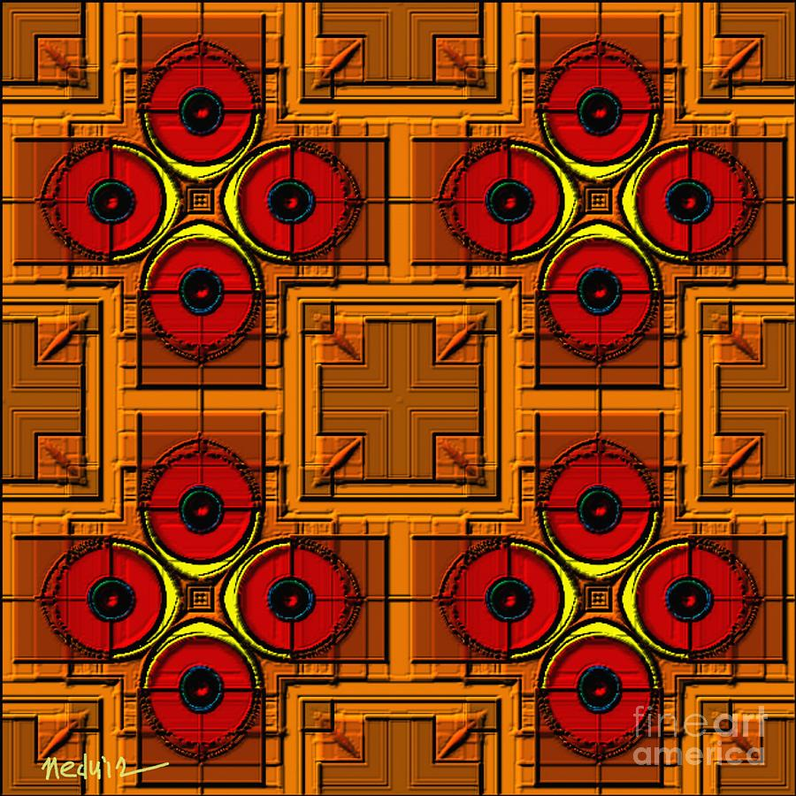 Paintings Painting - Symmetrica 188 by Nedunseralathan R