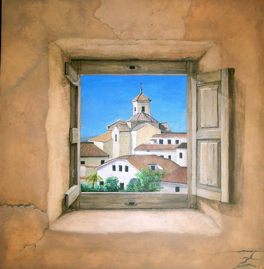 Taberno Painting by Jeremy Fox-Rayner