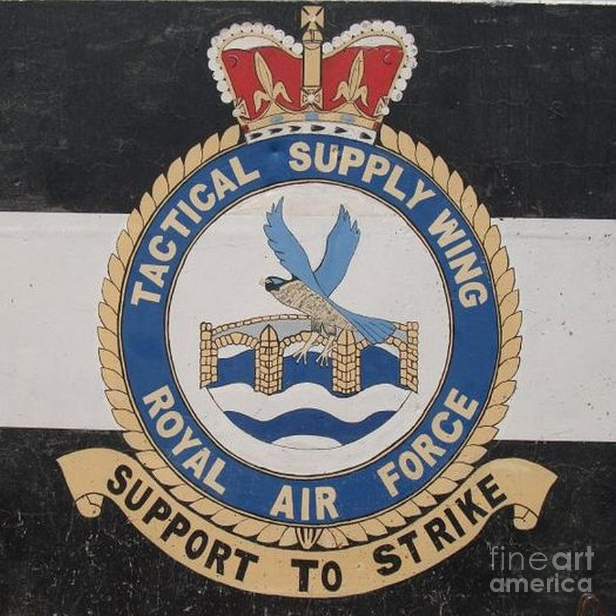 Royal Air Force Photograph - Tactical Supply Wing - RAF by Unknown