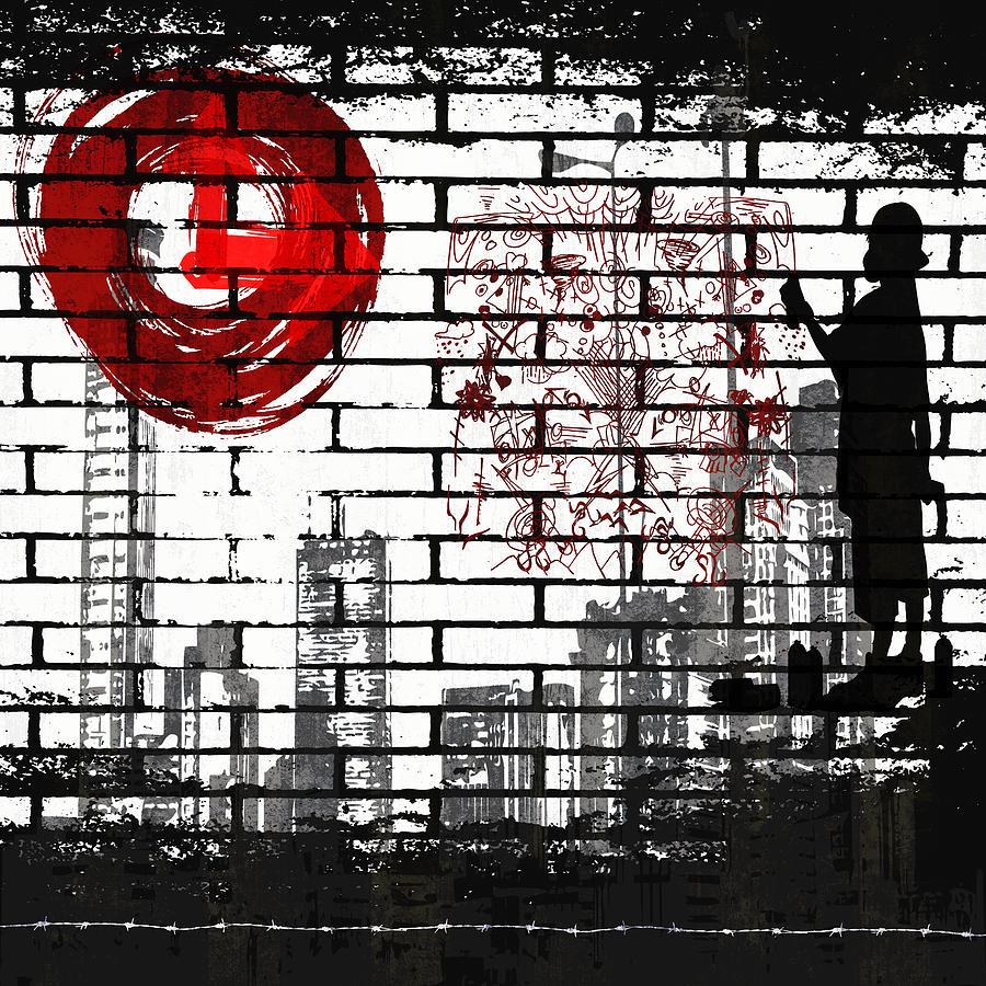 City Digital Art - Tag by Angelina Vick