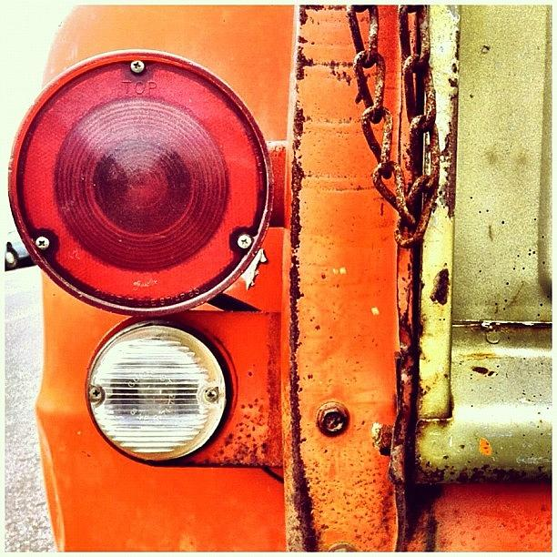Taillight Photograph - Tail Light  by Julie Gebhardt