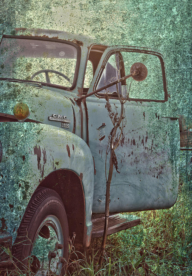 Old Truck Photograph - Tailgate Date  by The Artist Project