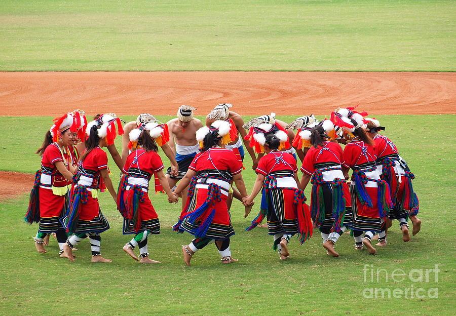 Dance Photograph - Taiwan Native Dance Performance by Yali Shi