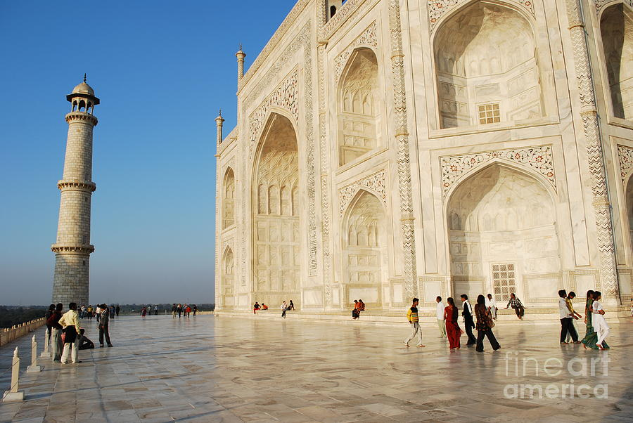 India Photograph - Taj Mahal by Jen Bodendorfer